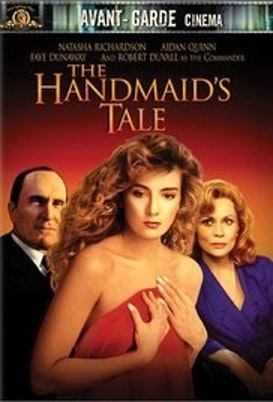 "The cover image of the 1990 ""Handmaid's Tale"" film"