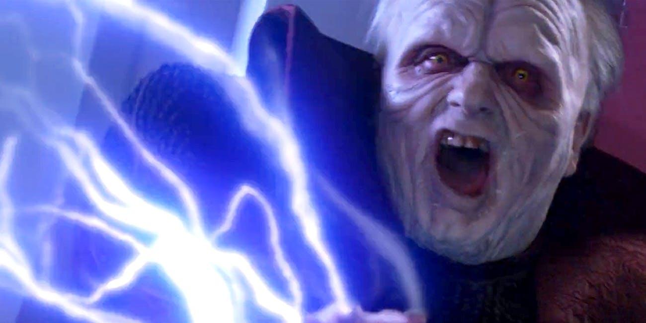 star wars 9 leaks emperor palpatine rise of skywalker trailer force lightning