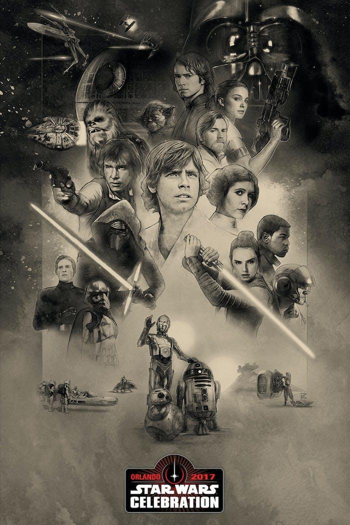 Fair Deal Auto >> 'Star Wars' Celebration 2017 Poster Forgot Lando ...