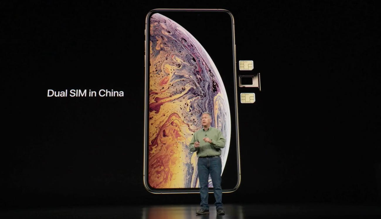 This would be cool. Wonder why they don't just release a dual SIM card iPhone in the US, too?