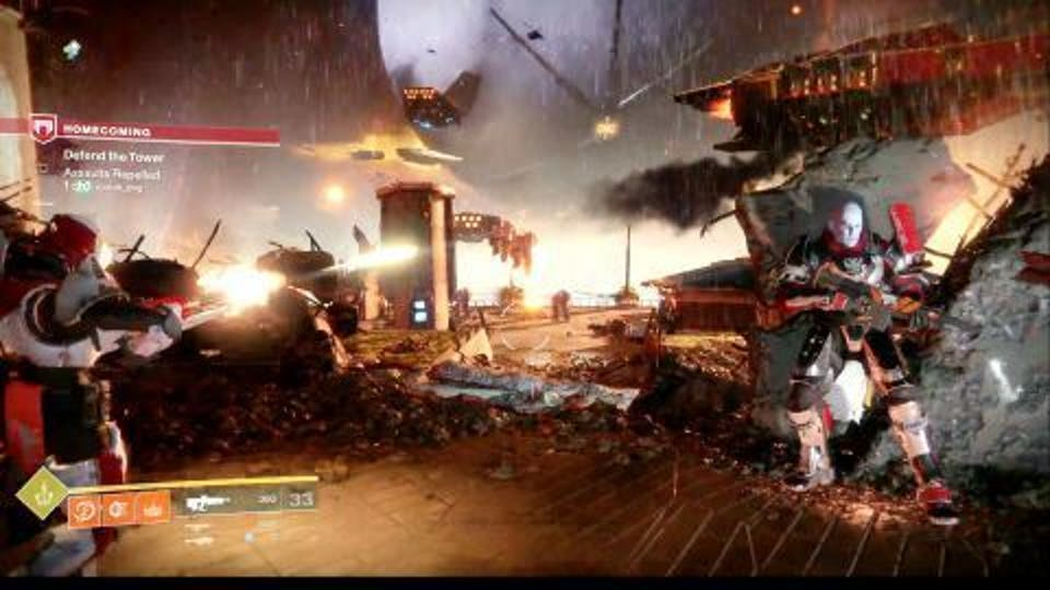 Each of the three Vanguard leaders appears during the first mission.