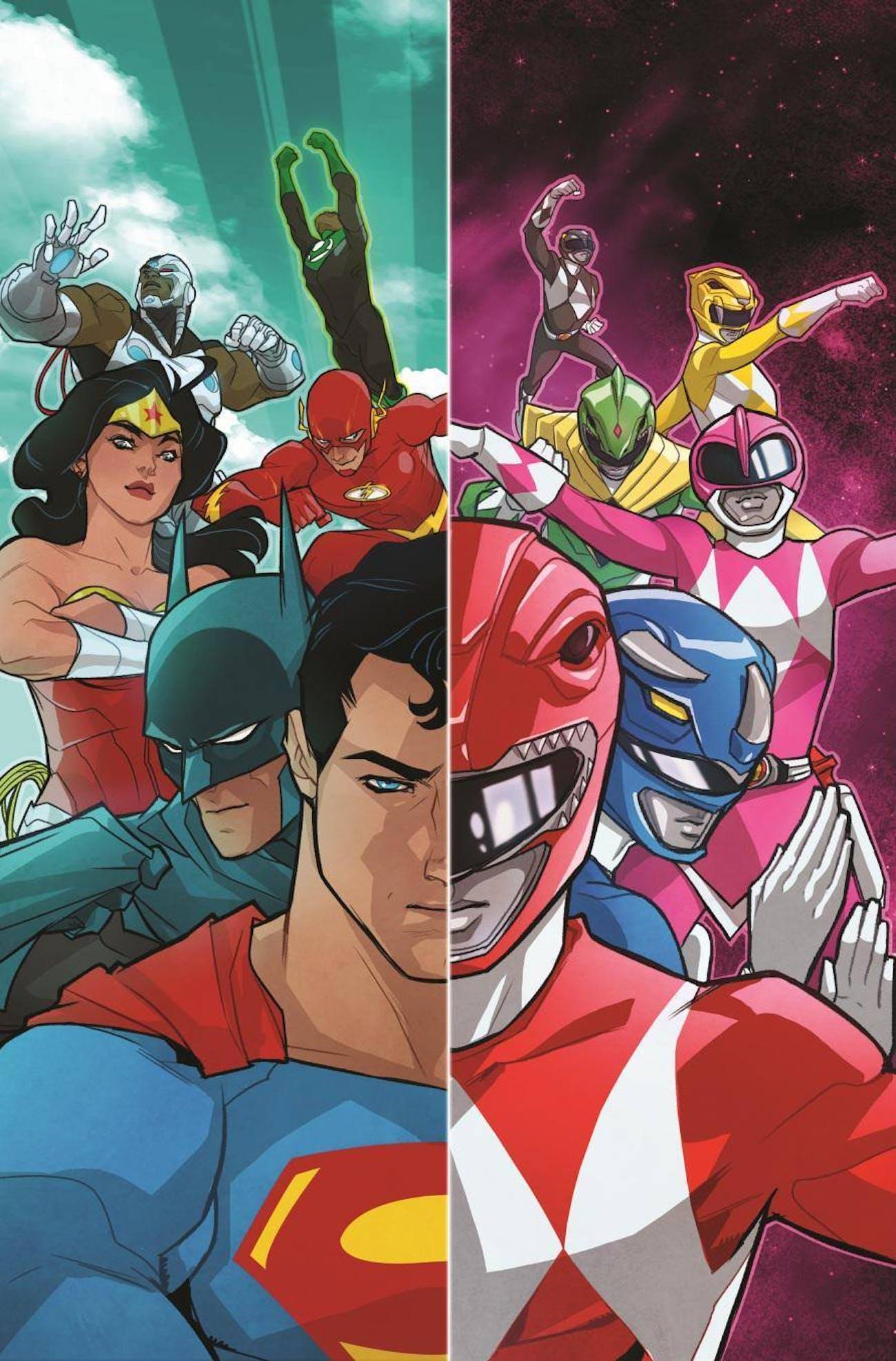 Justice League Power Rangers