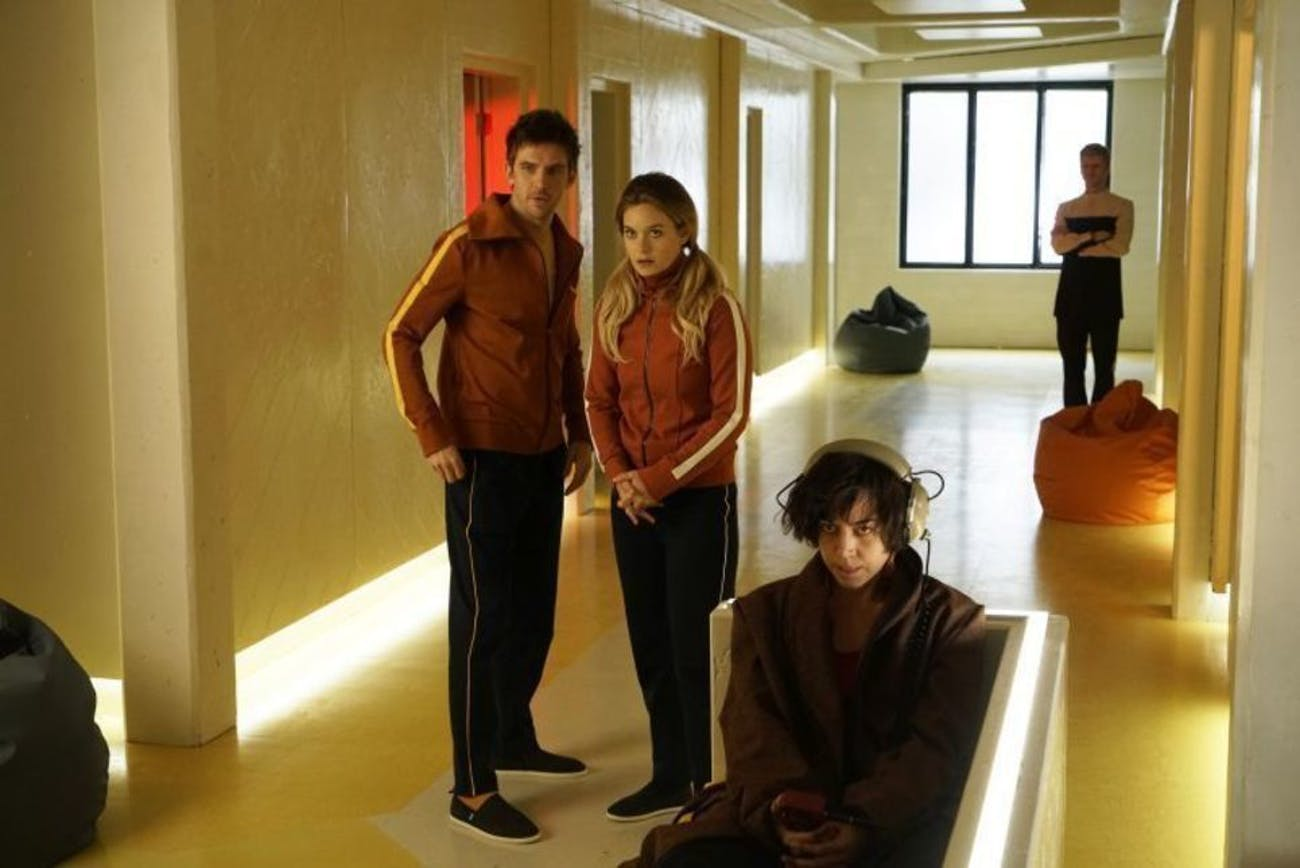 David, Syd, and Lenny all sit in the psychiatric hospital.