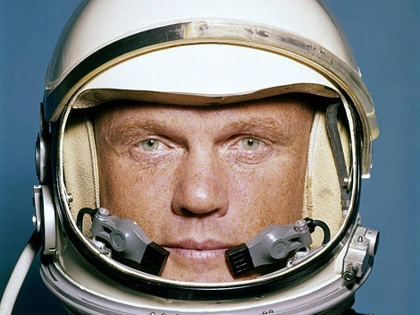 Elon Musk and Jeff Bezos Remember John Glenn