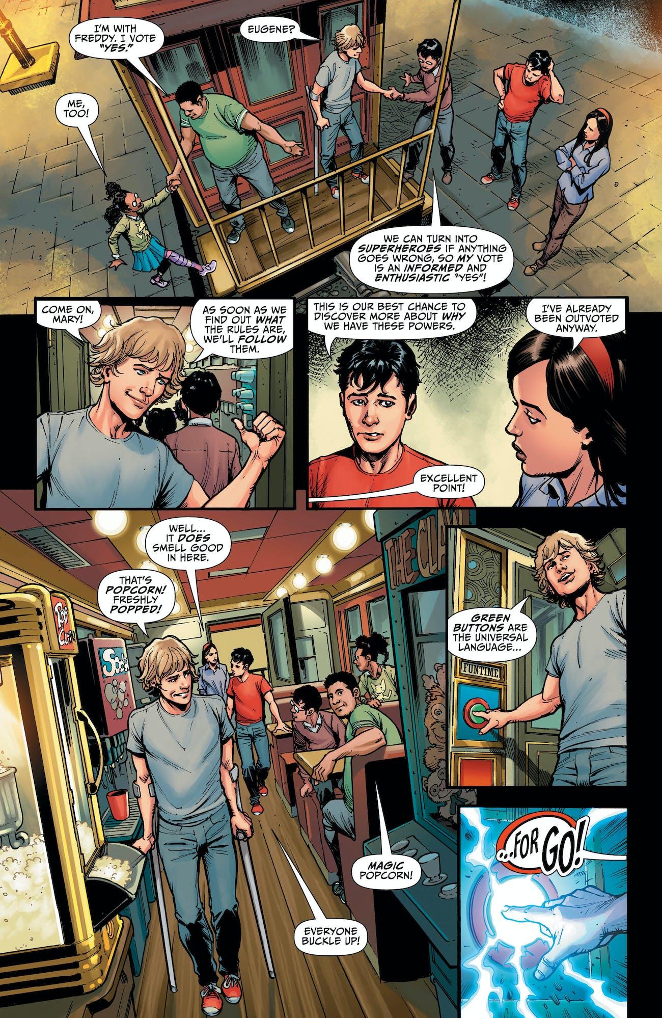 Shazam DC Geoff Johns