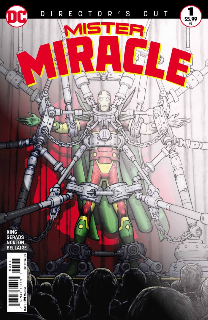 Mister Miracle DC Comics