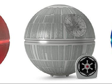 A Glowing Death Star Is the Perfect Tree-Topper for a Jedi Family Christmas