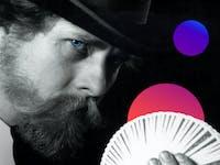 Richard Turner fanning cards