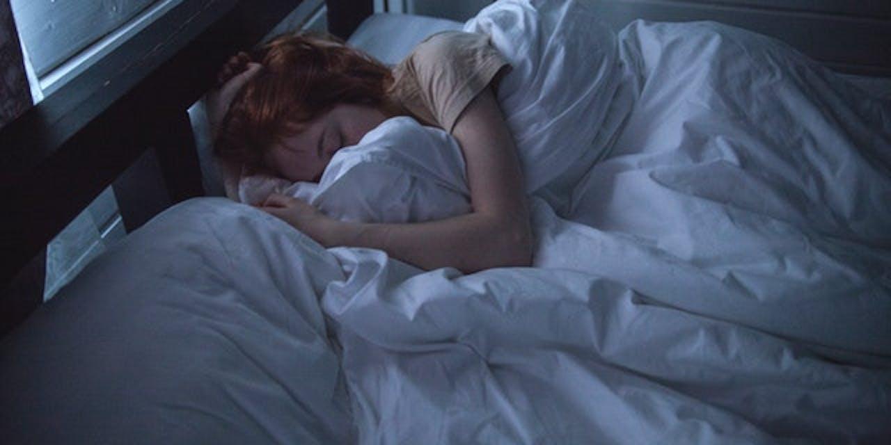 sleeping, nighttime