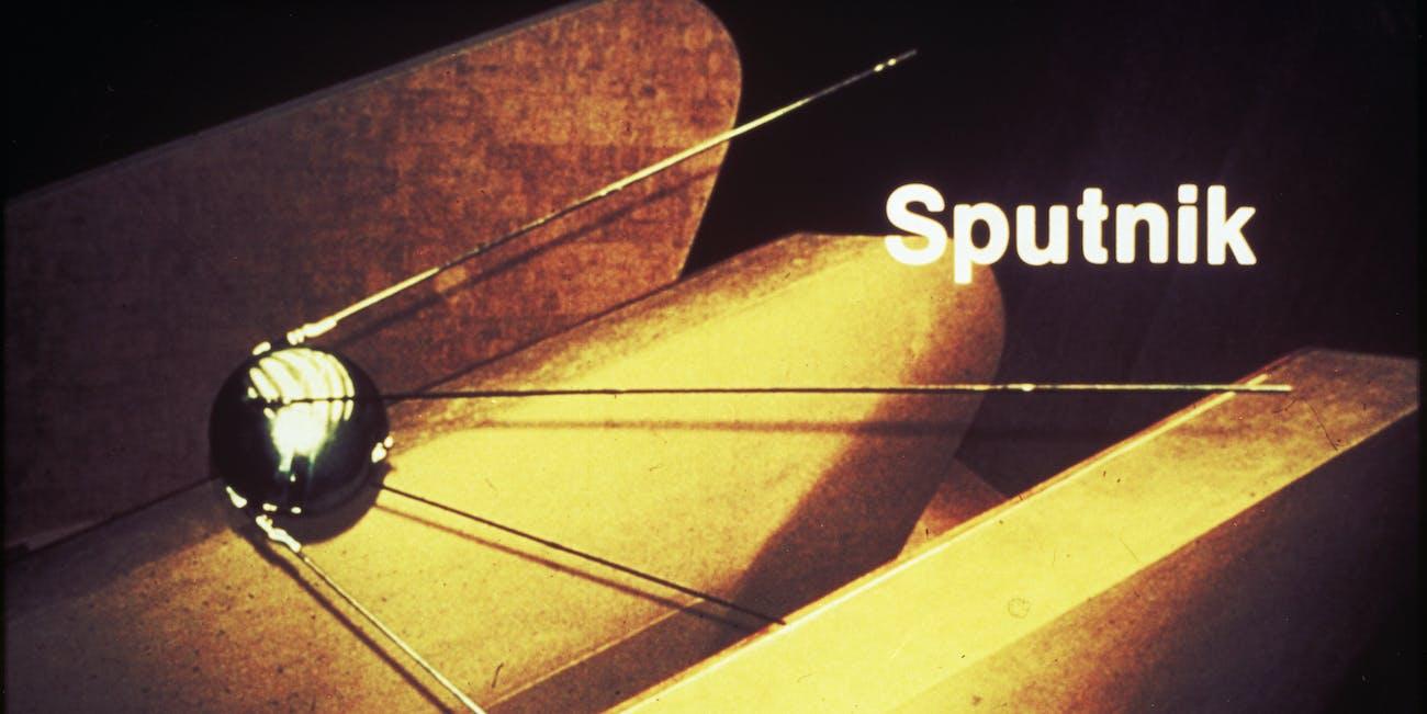 sputnik nasa october 4, 1957 satellite