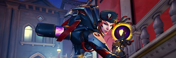 Moira joins Blackwatch in Overwatch Retribution.