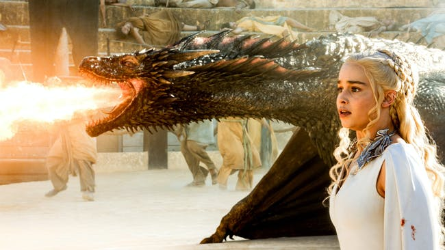 game of thrones dany khaleesi dragon drogon