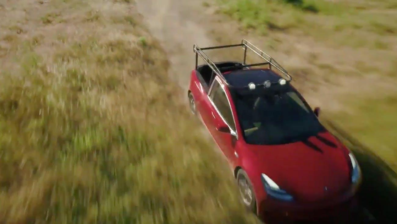 DIY Tesla Pickup Mod
