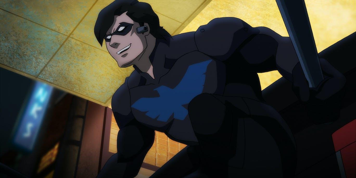 Batman: Bad Blood Nightwing