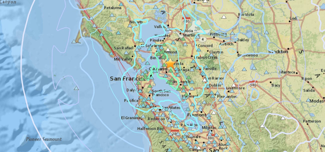 Shake Map.