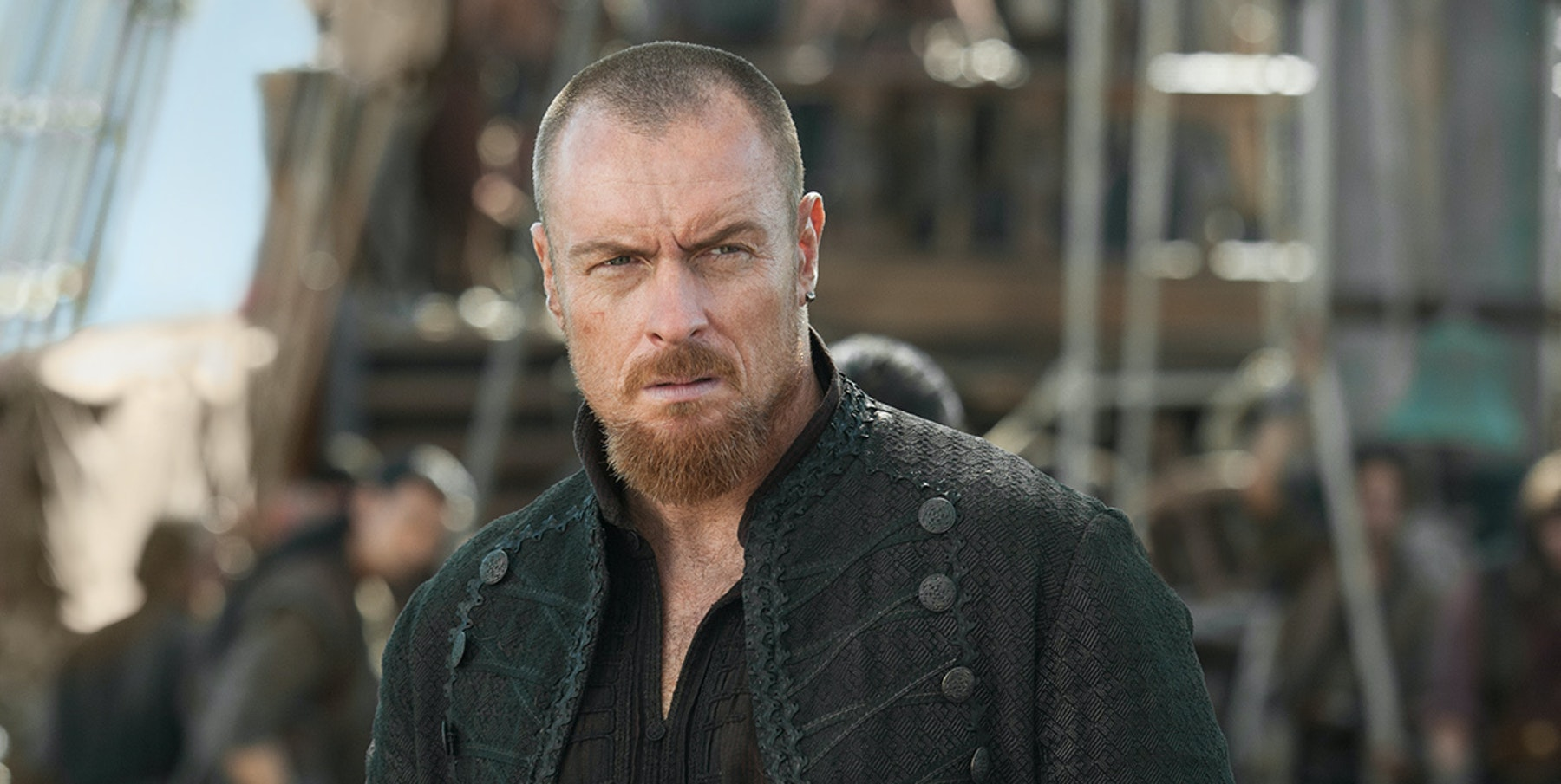 Toby Stephens Says 'Black Sails' Is Flint's Psychodrama