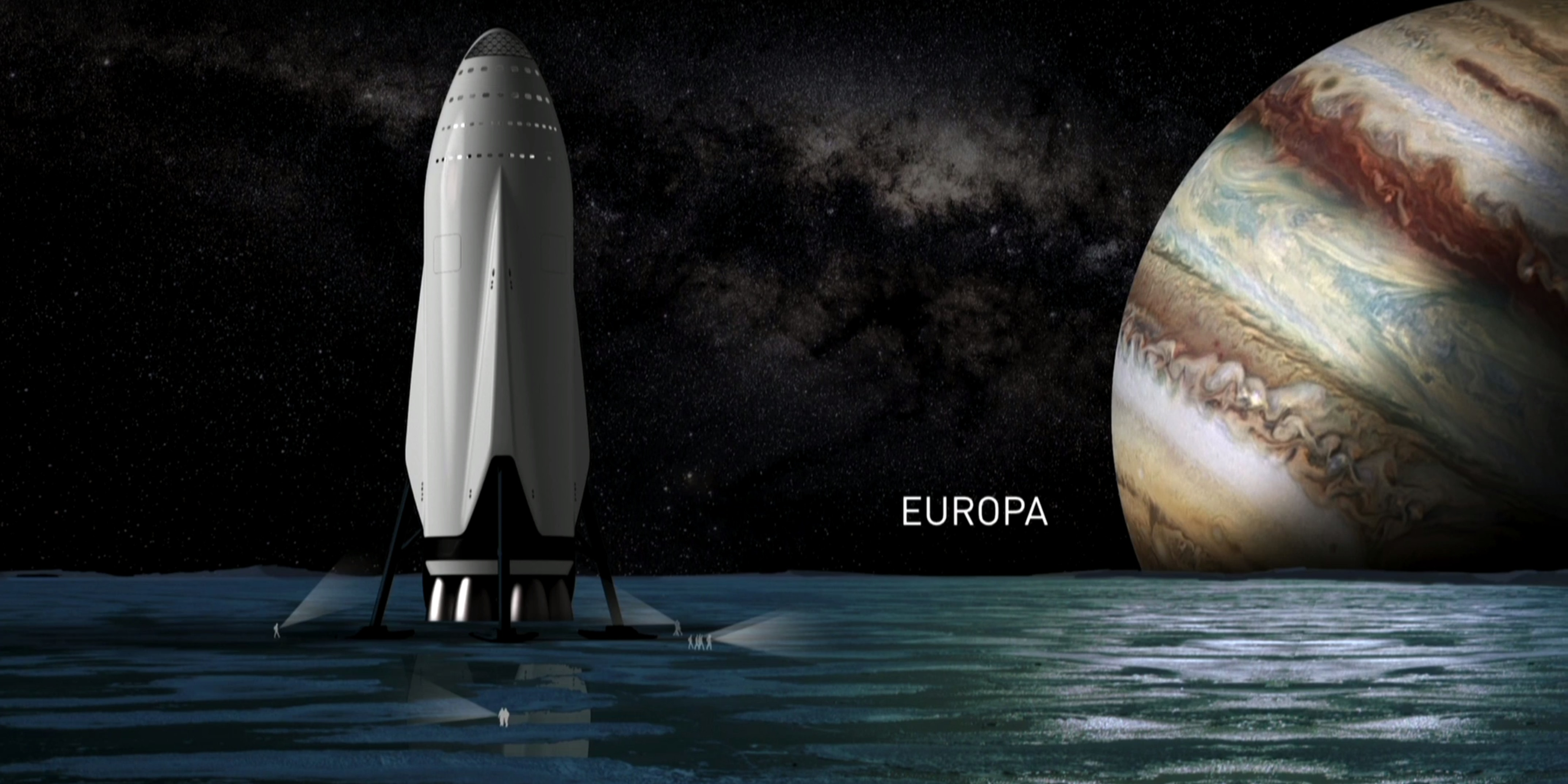 Elon Musk has plans to go beyond Mars as well.