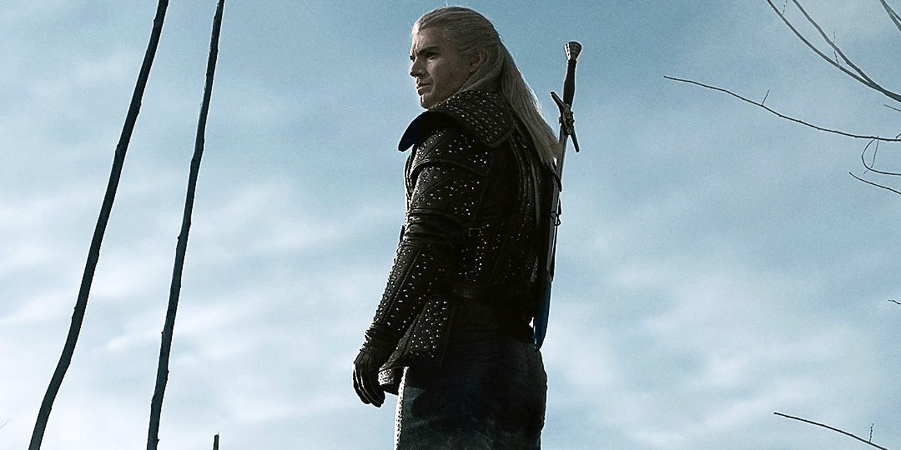 Henry Cavill as Geralt in Netflix's 'The Witcher'