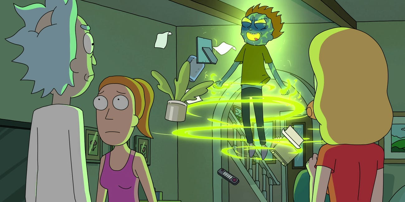 rick and morty mind blowers