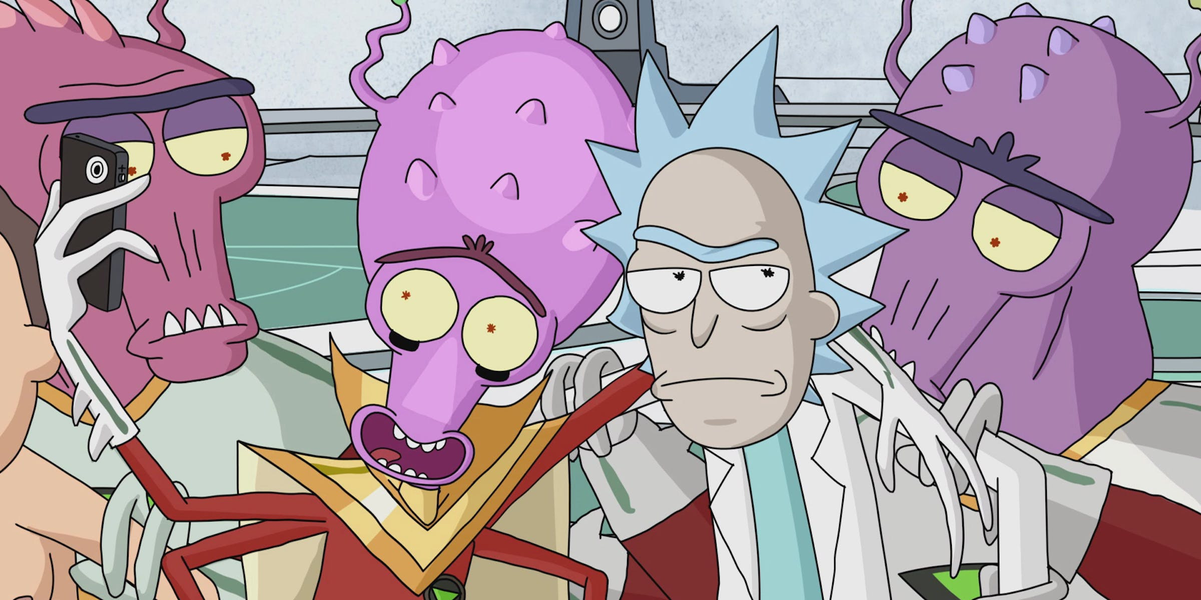 """'Rick and Morty' """"M. Night Shaym-Aliens!"""""""