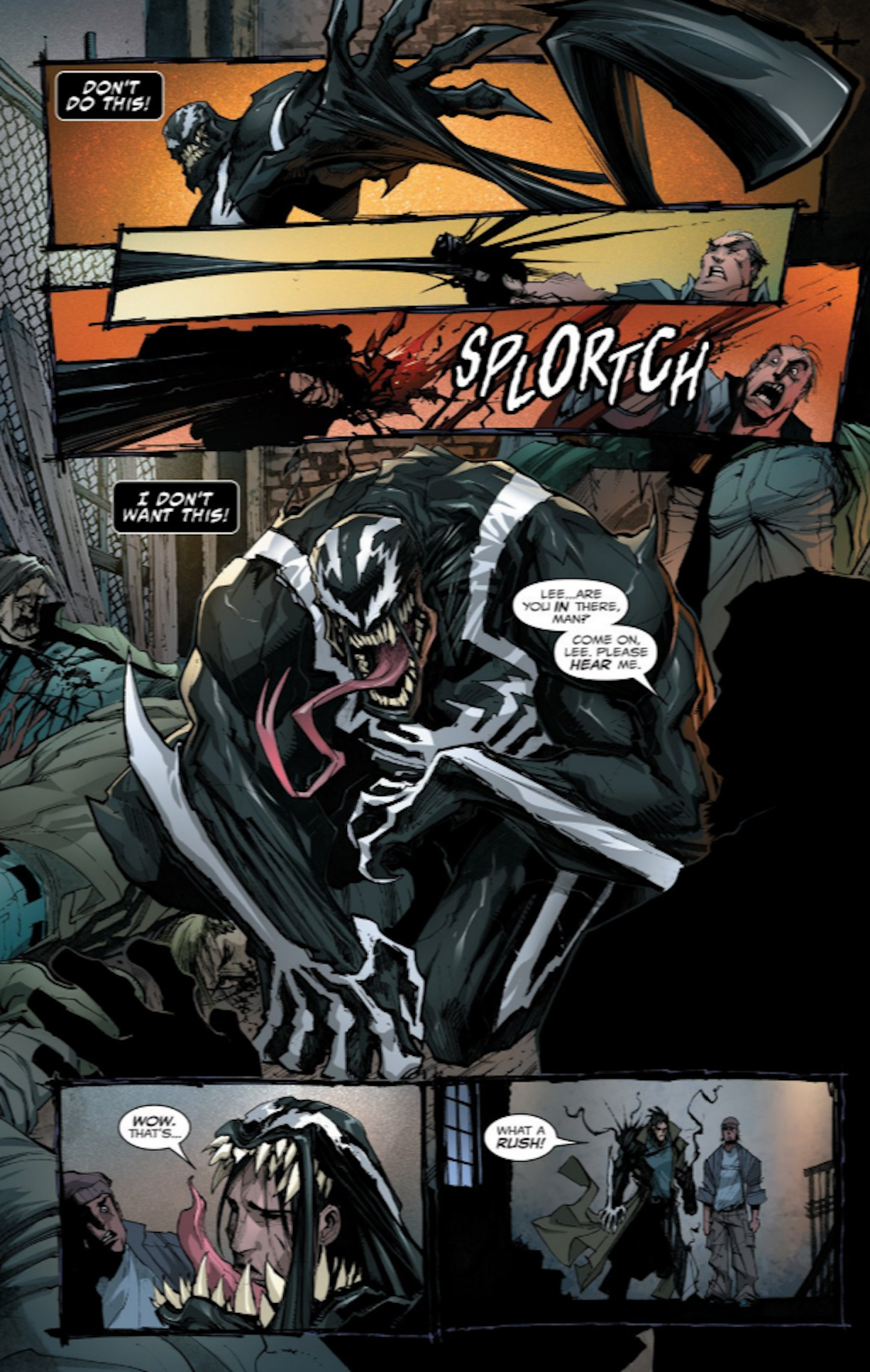 venoms psycho new host proves too insane for the symbiote