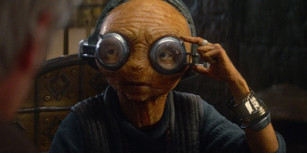Maz Kanata Might Barely Be in 'Star Wars: Episode VIII'