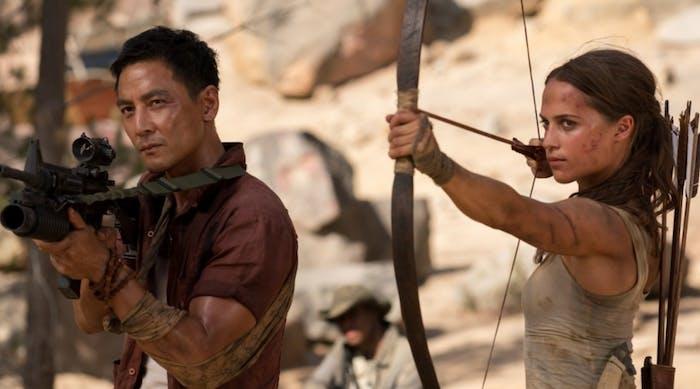 Daniel Wu in 'Tomb Raider'