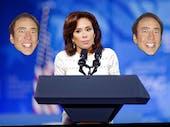 Jeanine Pirro has something against Nicolas Cage
