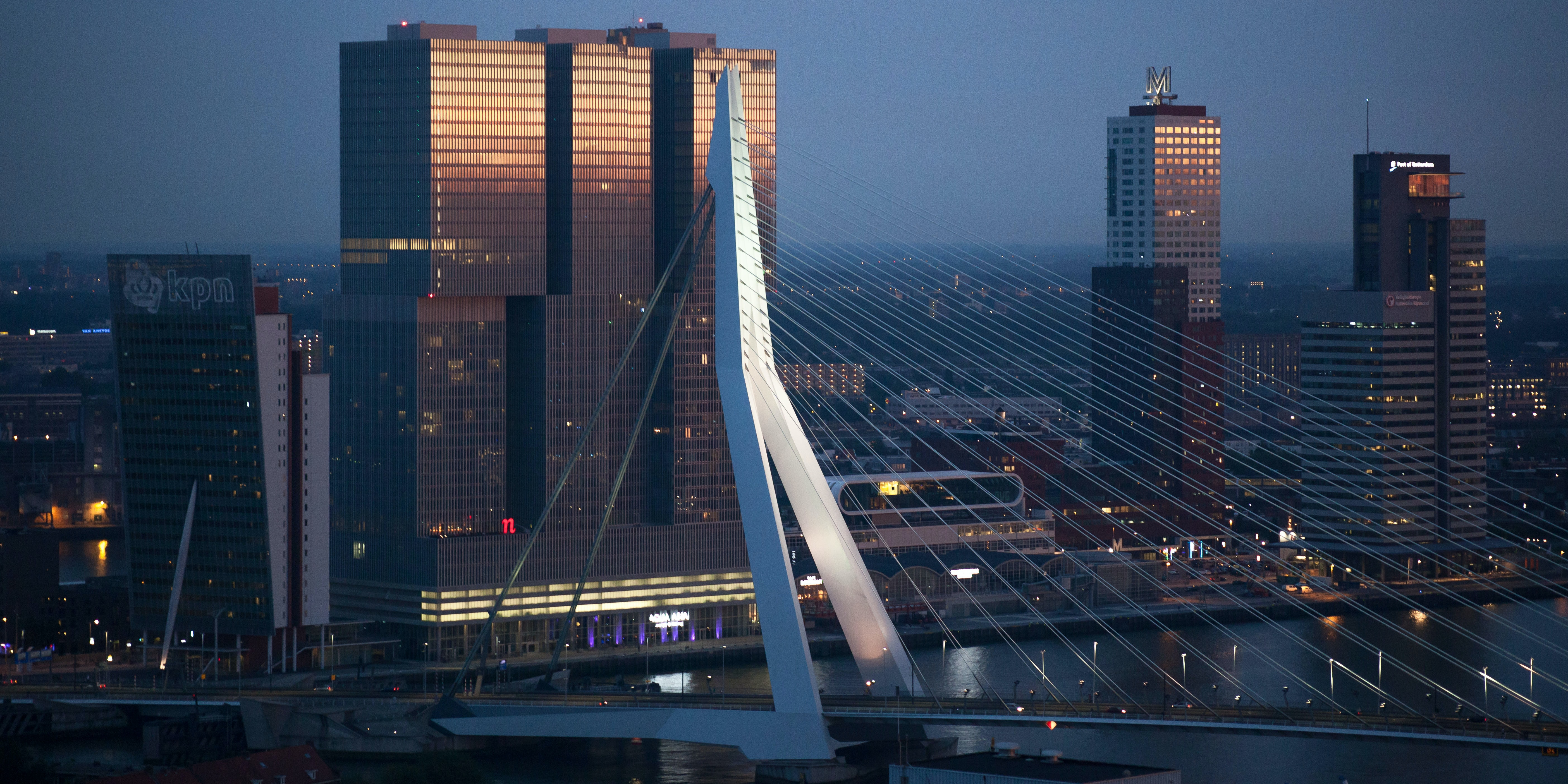 Rotterdam has never shied away from modernist (and postmodernist) statements.