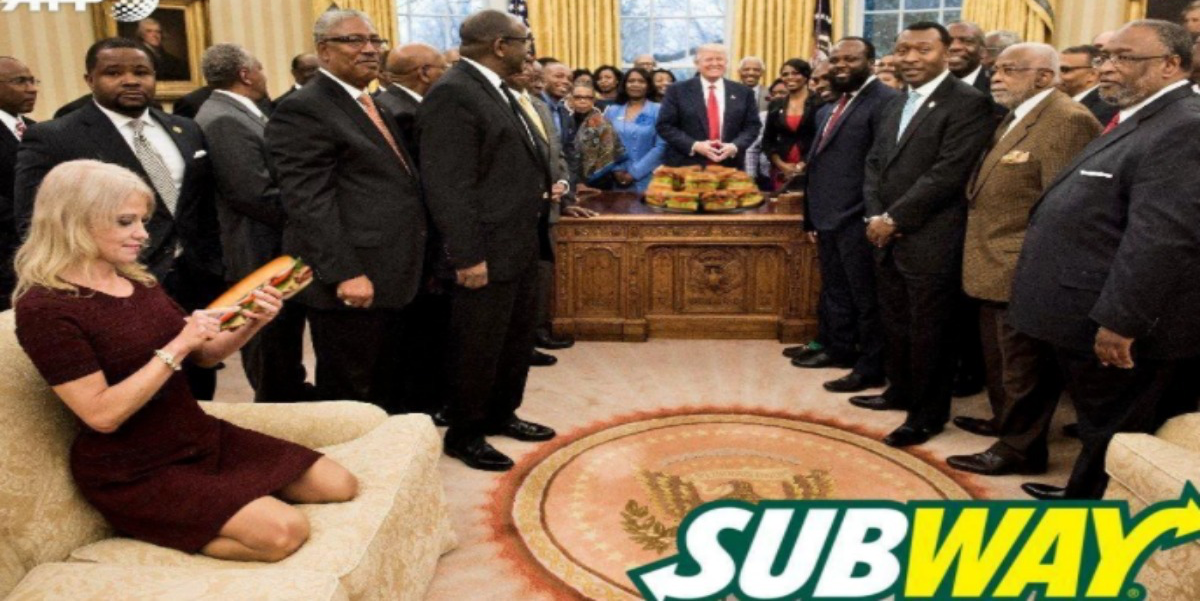 Kellyanne Conway S Weird Couch Moment Is The Perfect Meme
