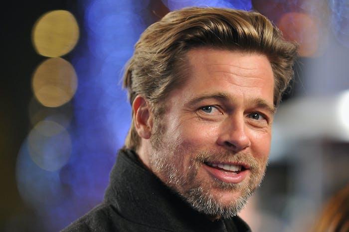 It's Brad Pitt.