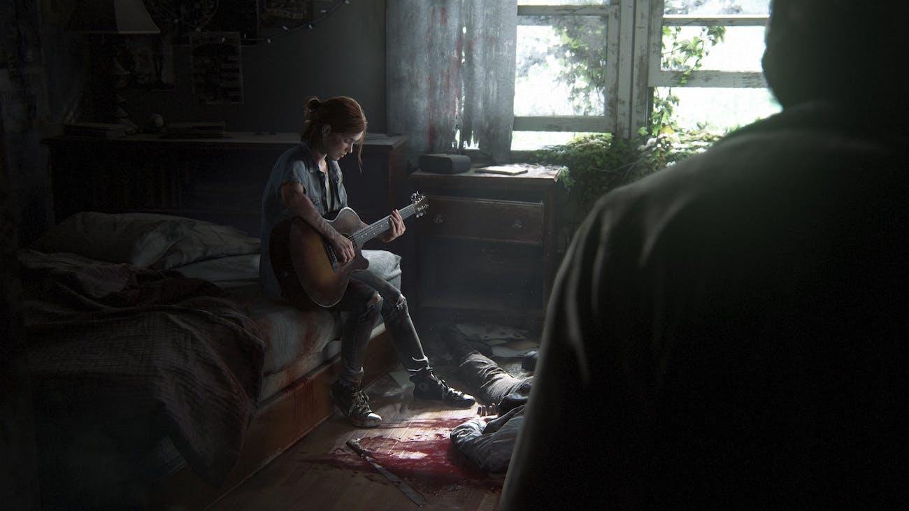 The Last of Us 2 ellie guitar