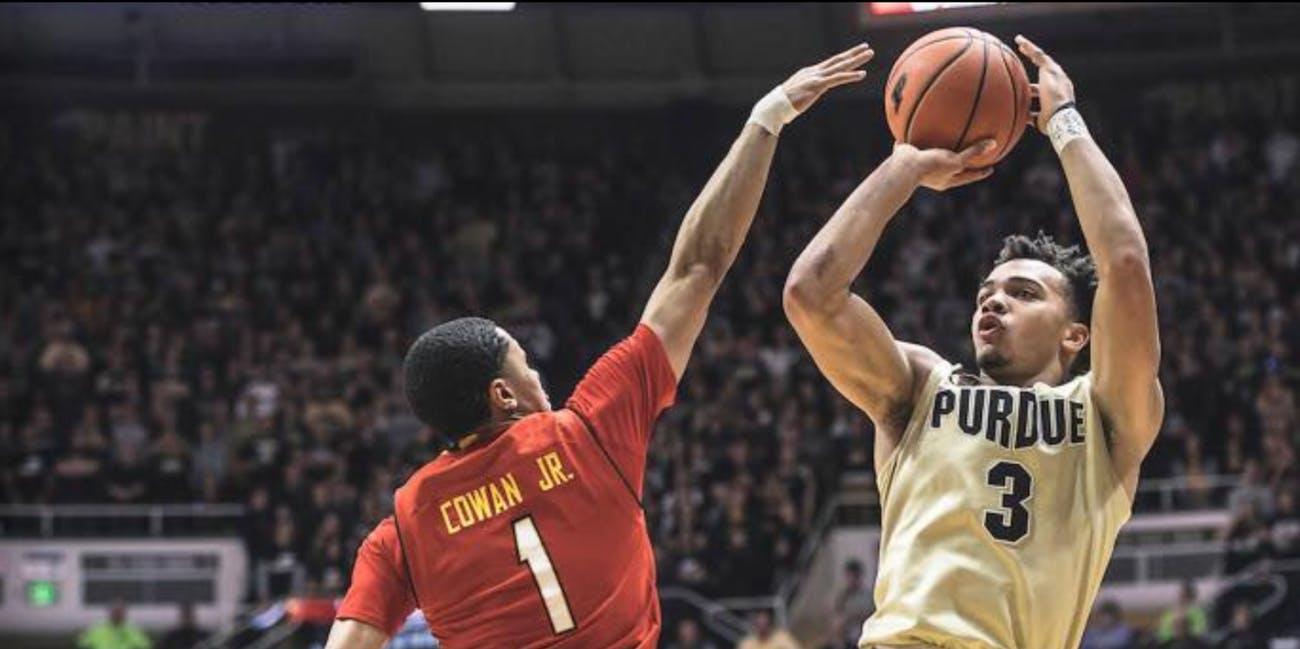 NCAA basketball Purdue
