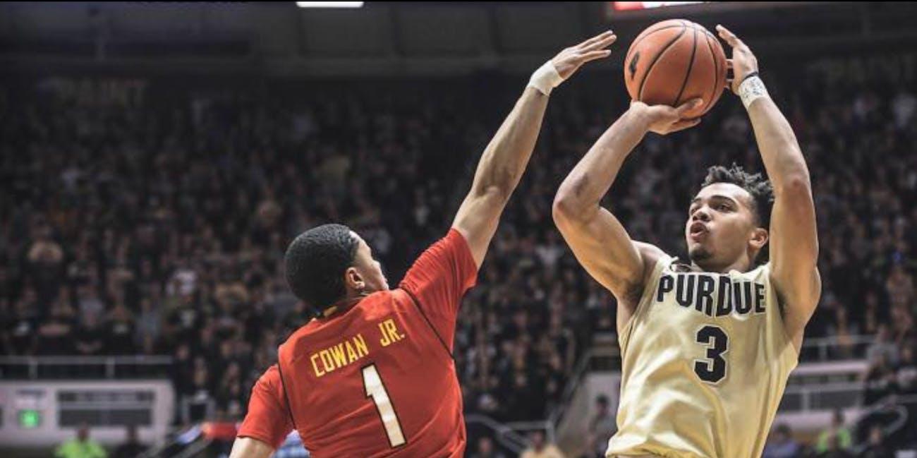 NCAA basketball Purdue