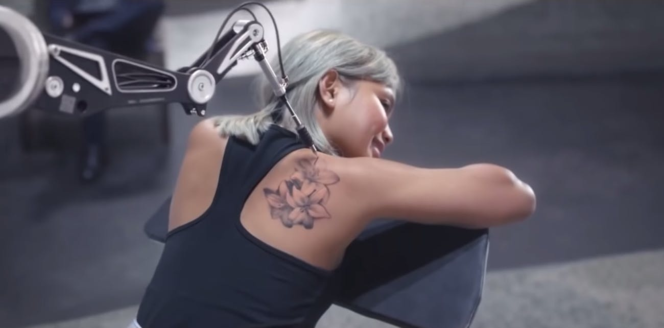 samsung remote tattoo