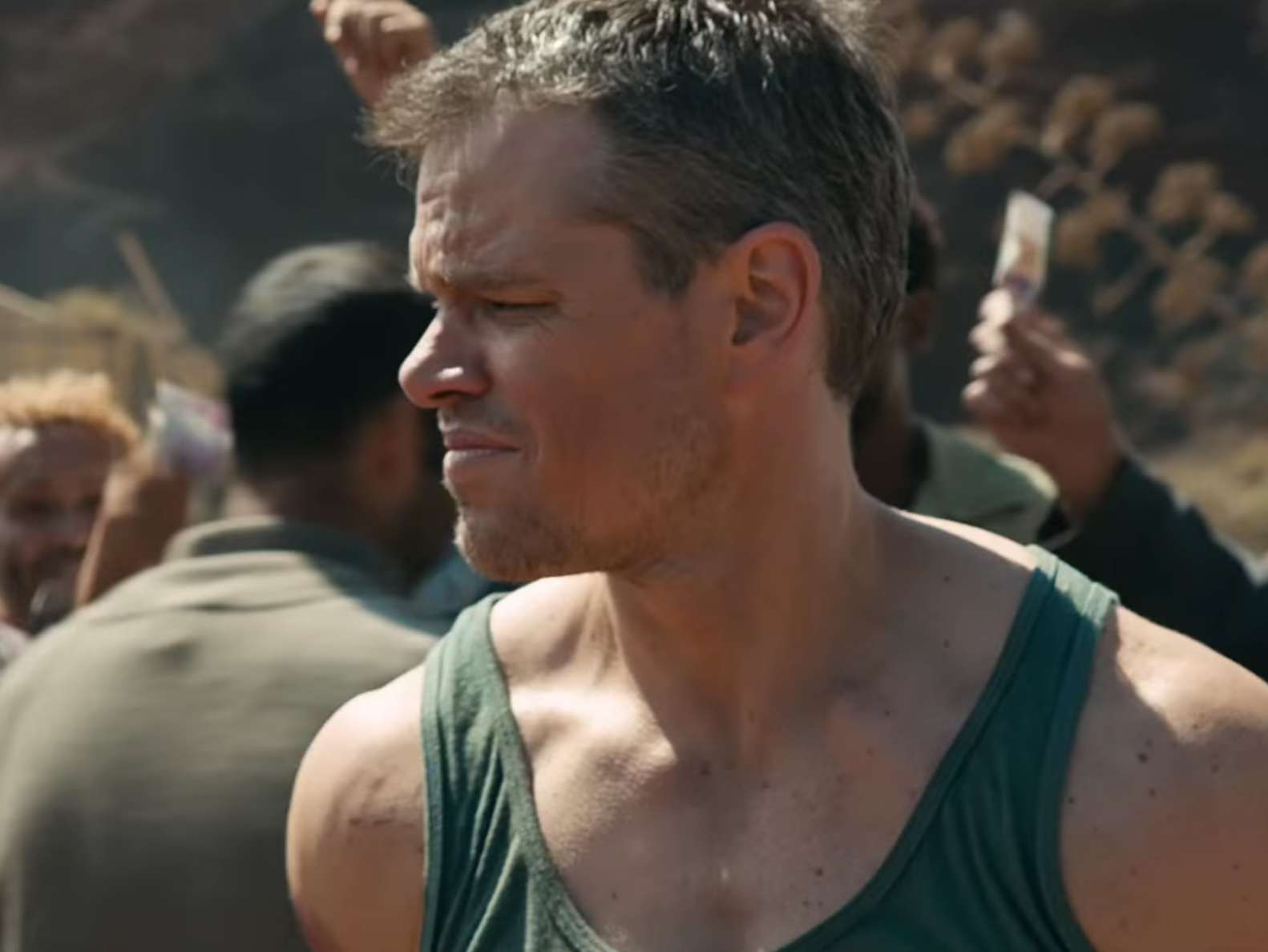 Watch Grizzle Matt Damon Wreck Shit