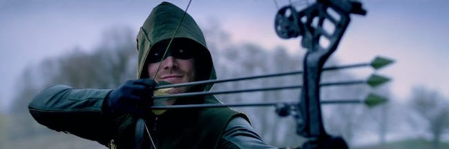 Steven Amell as Oliver on 'Arrow'