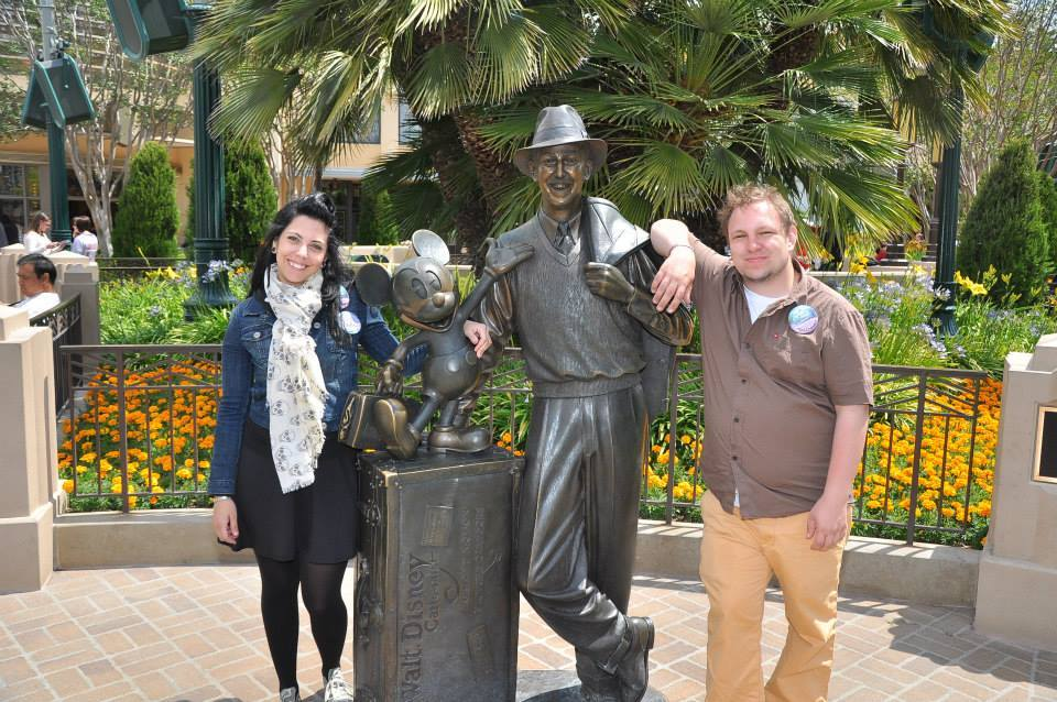 Josh and Angie Taylor at Disneyland