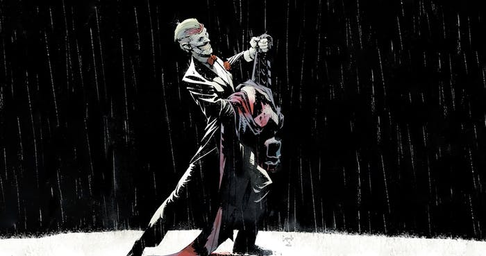 "Joker from Scott Snyder, Greg Capullo Batman The New 52, ""Death of the Family"""