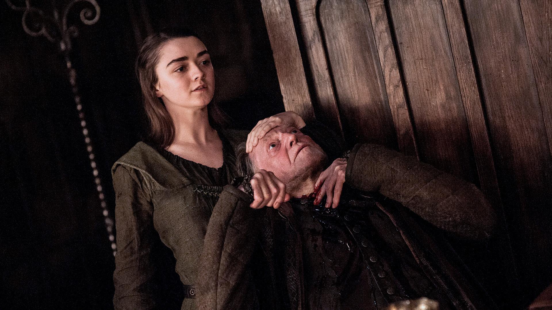 Arya Stark kills Walder Frey