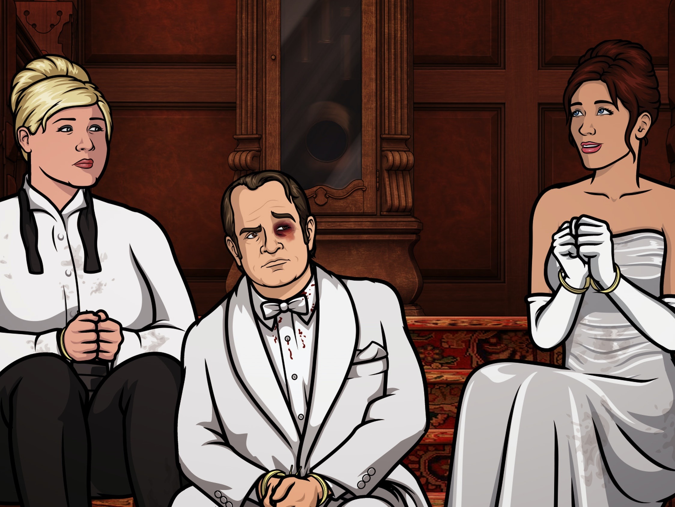 The 'Archer' Hostage Crisis Devolves Into Farce