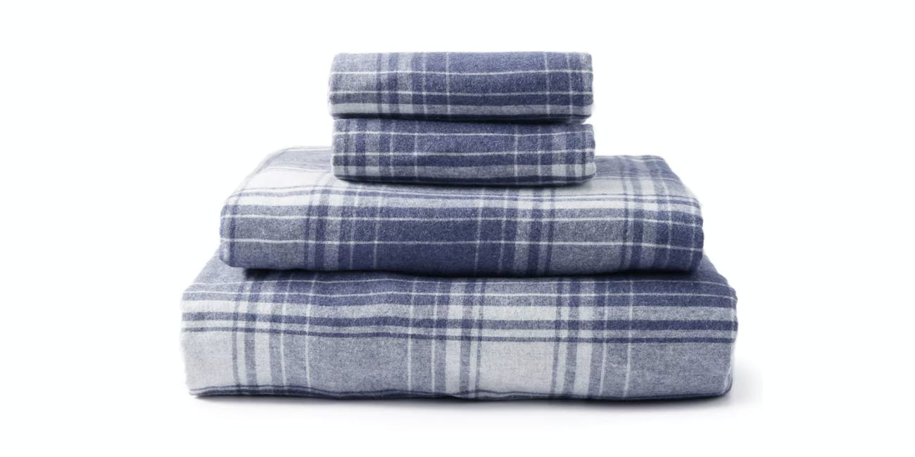 Upstate Eco Heather Flannel Sheet Set