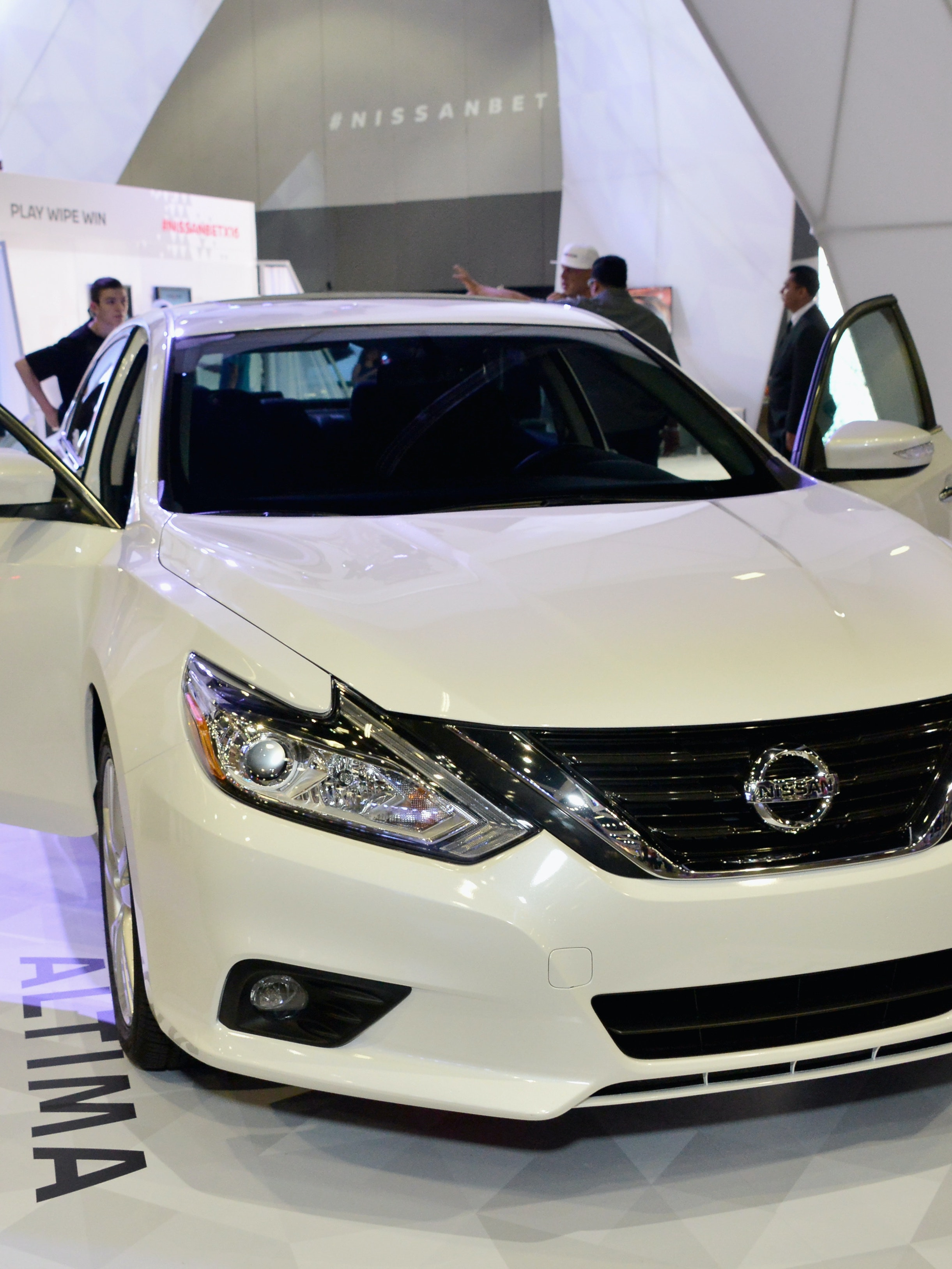 LOS ANGELES, CA - JUNE 26:  Nissan Maxima is displayed at the Fan Fest during the 2016 BET Experience on June 26, 2016 in Los Angeles, California.  (Photo by Araya Diaz/Getty Images for BET)
