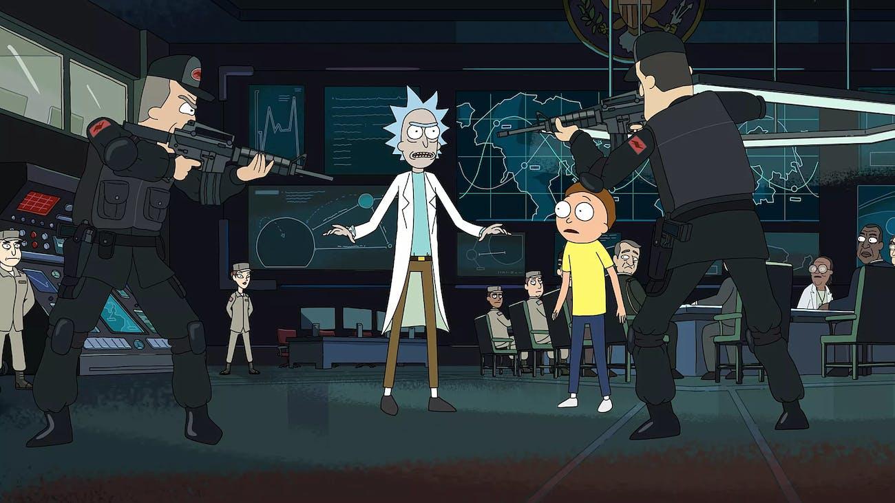 'Rick and Morty'