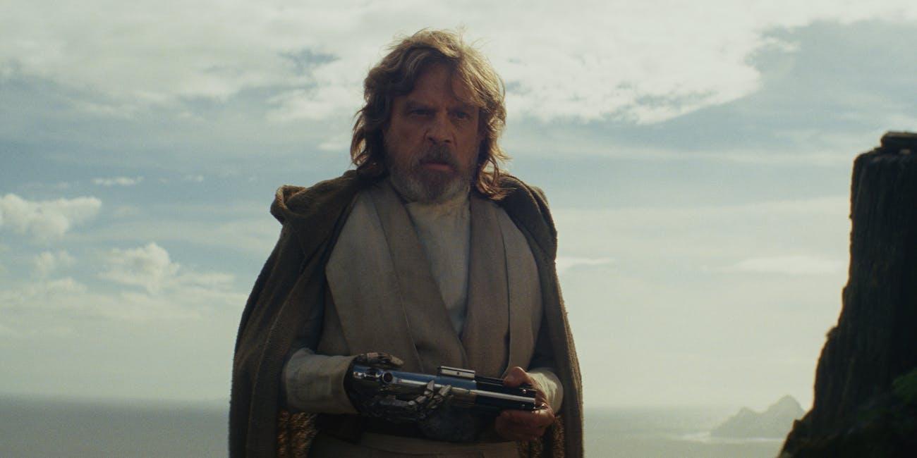 Star Wars The Last Jedi Luke
