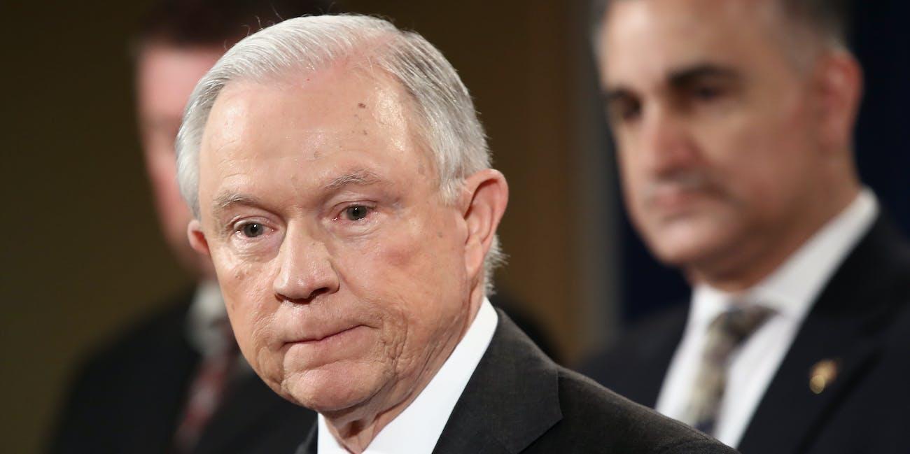 Jeff Sessions senate intelligence committee testimony