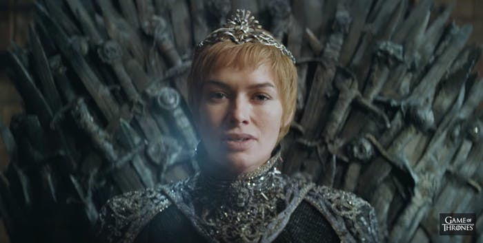 Cersei Lannister in 'Game of Thrones' Season 7