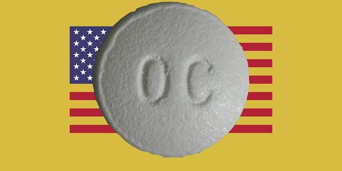 Massive OC over the American flag