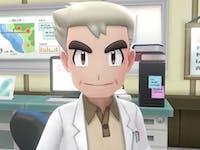 Professor Oak in 'Pokemon: Let's Go'
