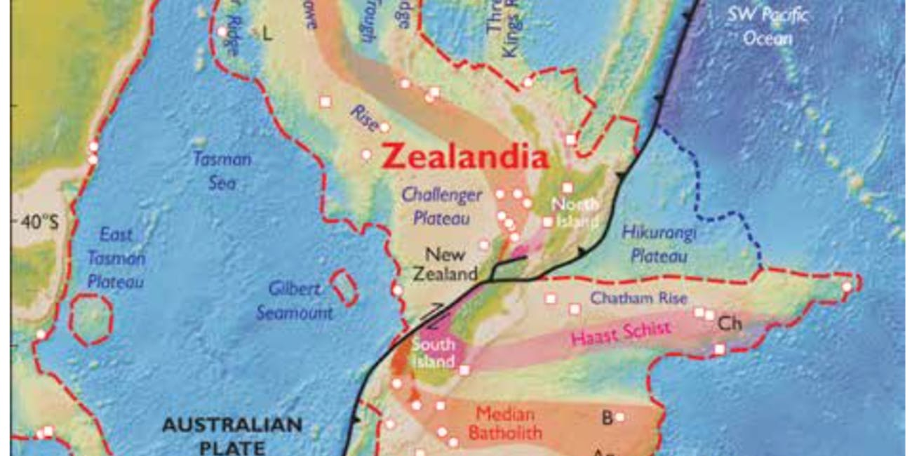 zealandia map eighth continent lost sunken